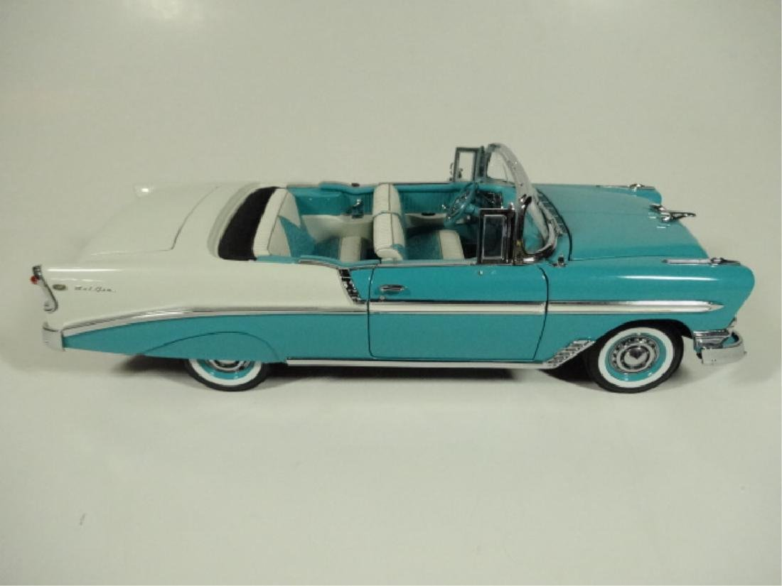 1956 CHEVROLET CONVERTIBLE, VERY GOOD CONDITION, ROOF - 3