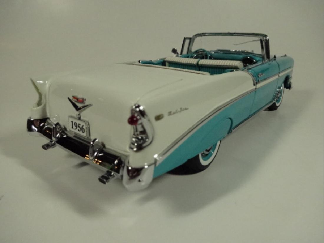 1956 CHEVROLET CONVERTIBLE, VERY GOOD CONDITION, ROOF - 4