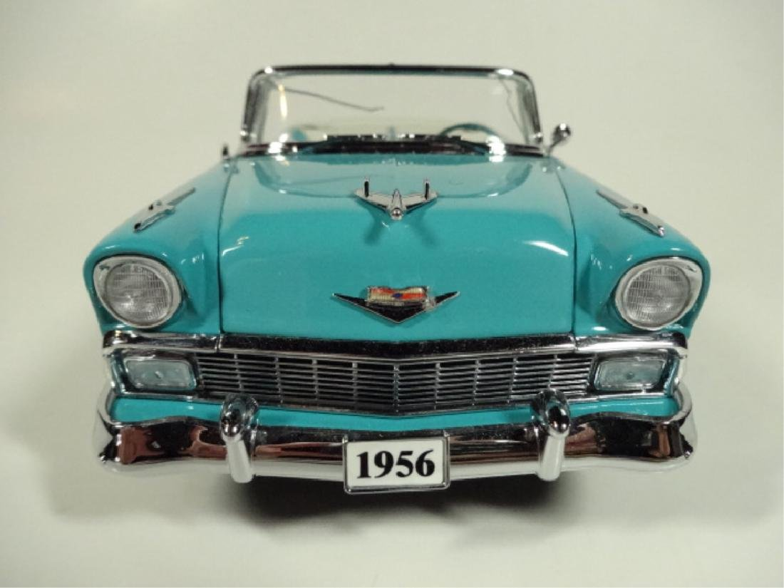 1956 CHEVROLET CONVERTIBLE, VERY GOOD CONDITION, ROOF - 6