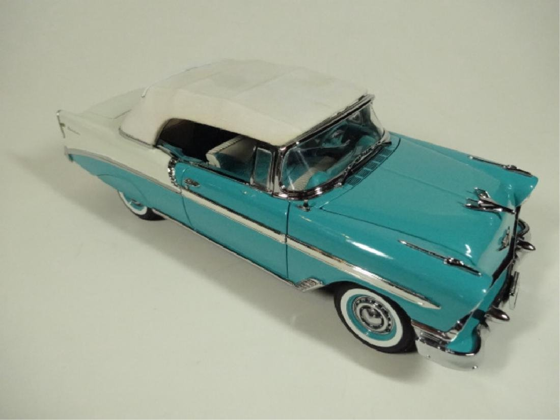 1956 CHEVROLET CONVERTIBLE, VERY GOOD CONDITION, ROOF - 7