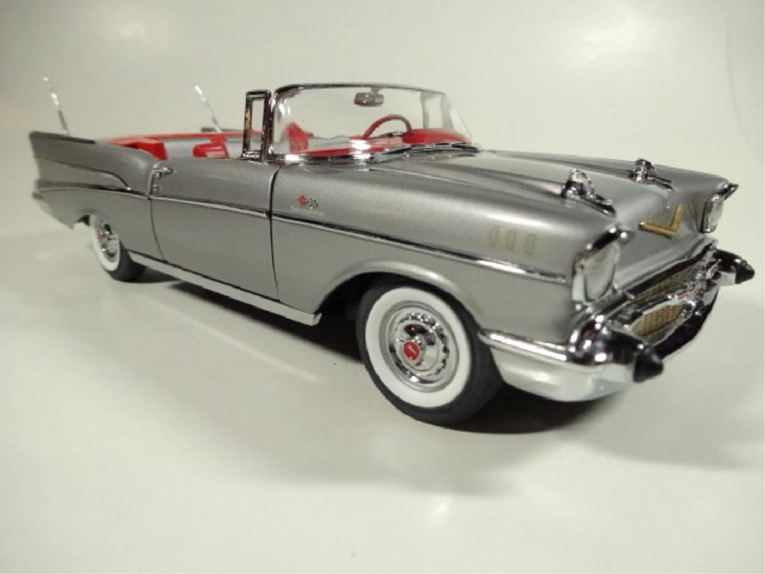 "1957 CHEVROLET BEL AIR ""FUELIE"" CONVERTIBLE, MINT"