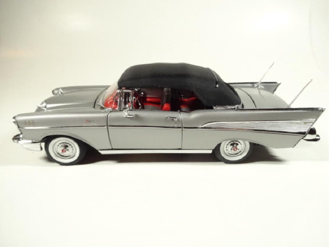 "1957 CHEVROLET BEL AIR ""FUELIE"" CONVERTIBLE, MINT - 6"