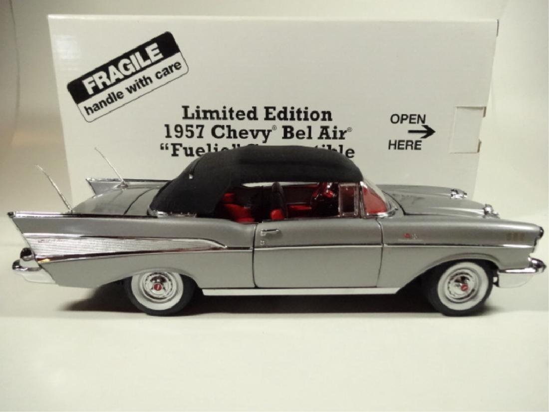 "1957 CHEVROLET BEL AIR ""FUELIE"" CONVERTIBLE, MINT - 7"