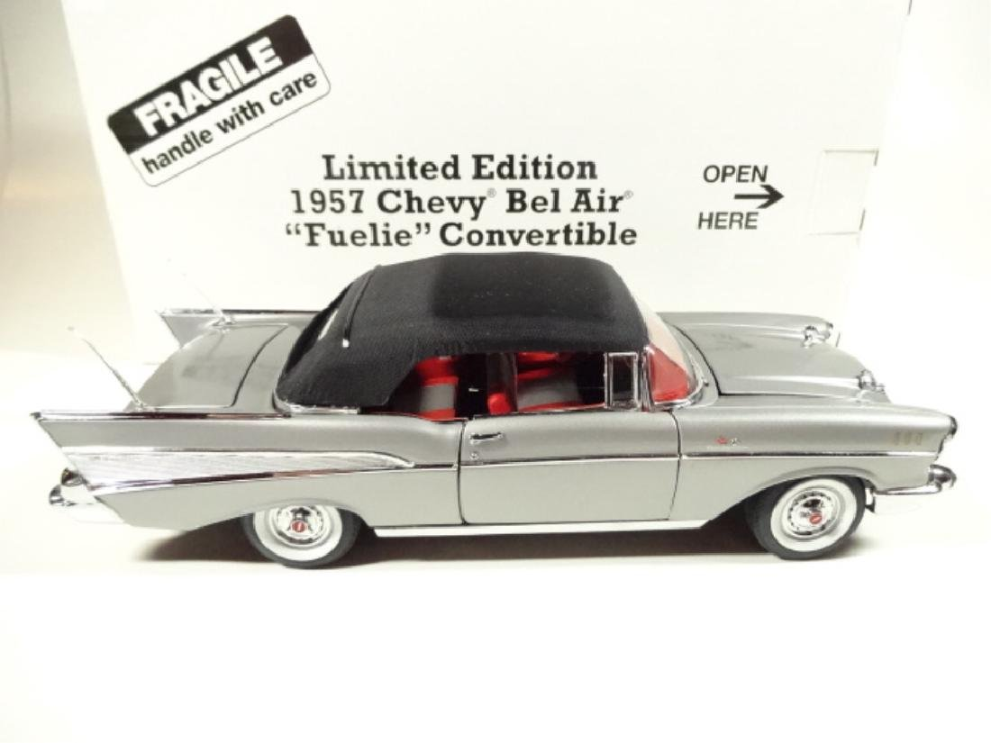 "1957 CHEVROLET BEL AIR ""FUELIE"" CONVERTIBLE, MINT - 8"