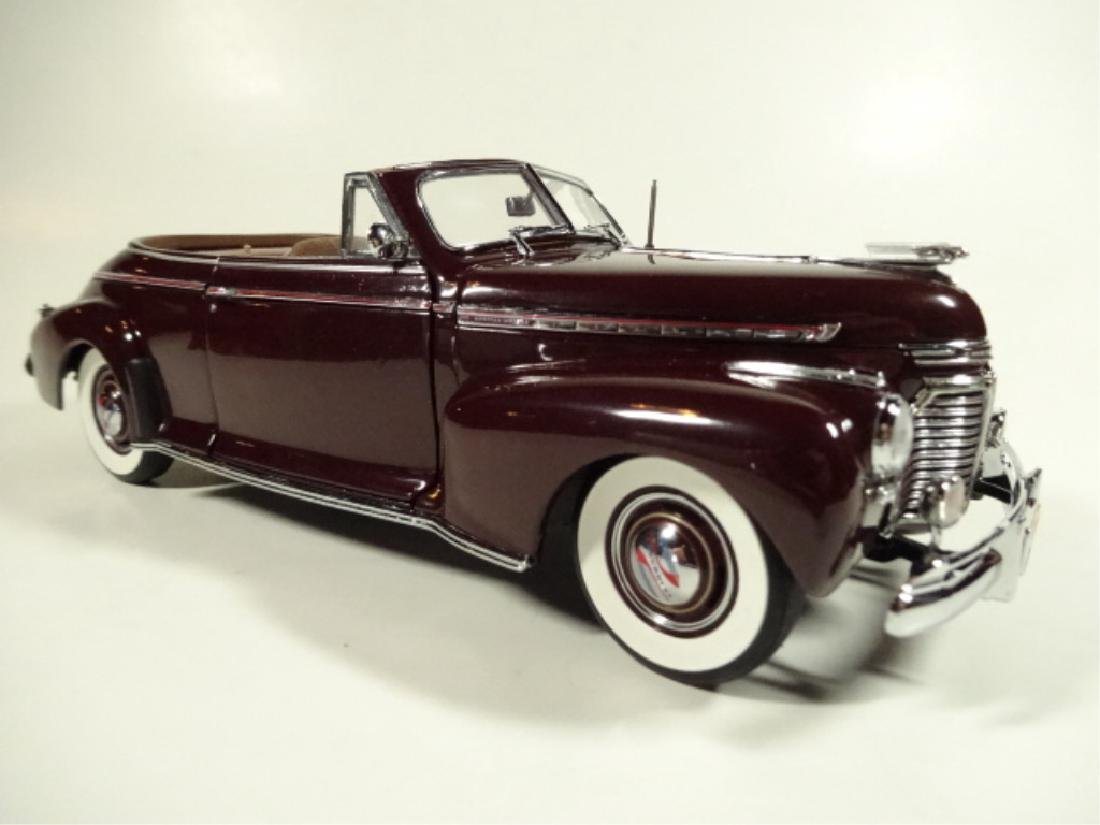 1941 CHEVROLET SPECIAL DELUXE CONVERTIBLE, MINT - 3