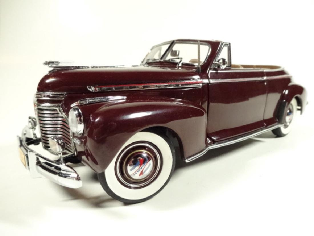 1941 CHEVROLET SPECIAL DELUXE CONVERTIBLE, MINT - 4