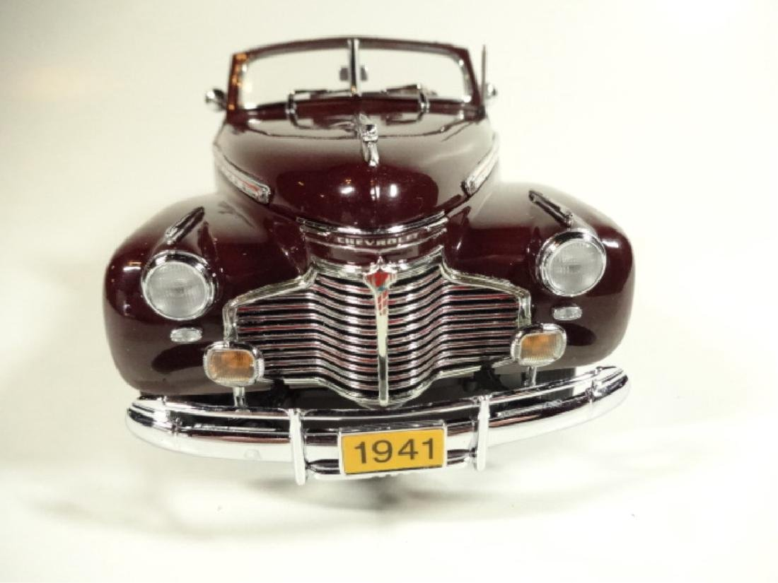 1941 CHEVROLET SPECIAL DELUXE CONVERTIBLE, MINT - 7