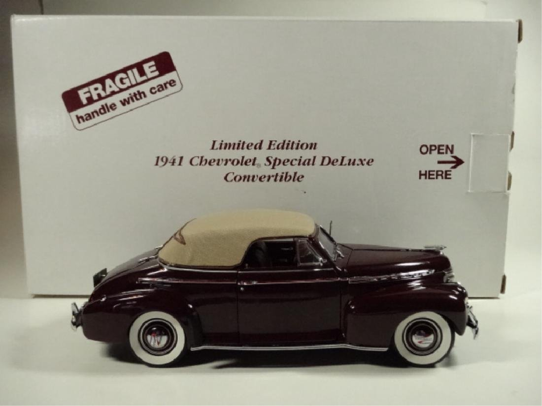 1941 CHEVROLET SPECIAL DELUXE CONVERTIBLE, MINT - 8