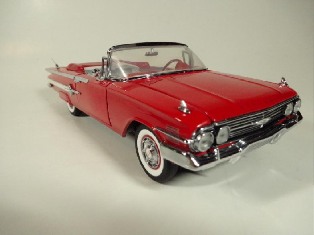 1960 CHEVROLET IMPALA CONVERTIBLE, MINT CONDITION, BY - 3