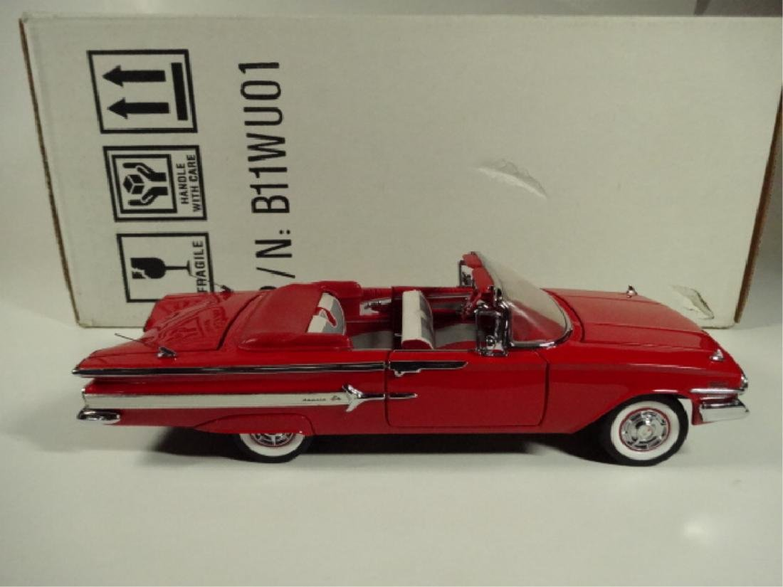 1960 CHEVROLET IMPALA CONVERTIBLE, MINT CONDITION, BY - 6