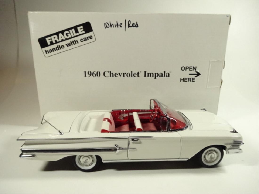 1960 CHEVROLET IMPALA, MINT CONDITION, BY DANBURY MINT, - 7