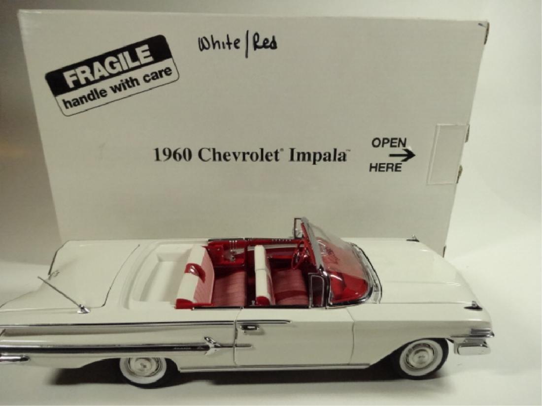 1960 CHEVROLET IMPALA, MINT CONDITION, BY DANBURY MINT, - 8