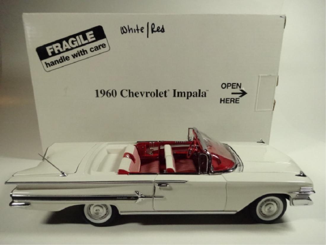 1960 CHEVROLET IMPALA, MINT CONDITION, BY DANBURY MINT, - 9