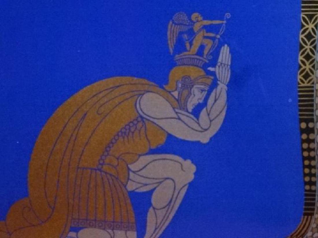 "ERTE ROMAIN DE TIRTOFF SIGNED SERIGRAPH ""CLEOPATRA"", - 5"