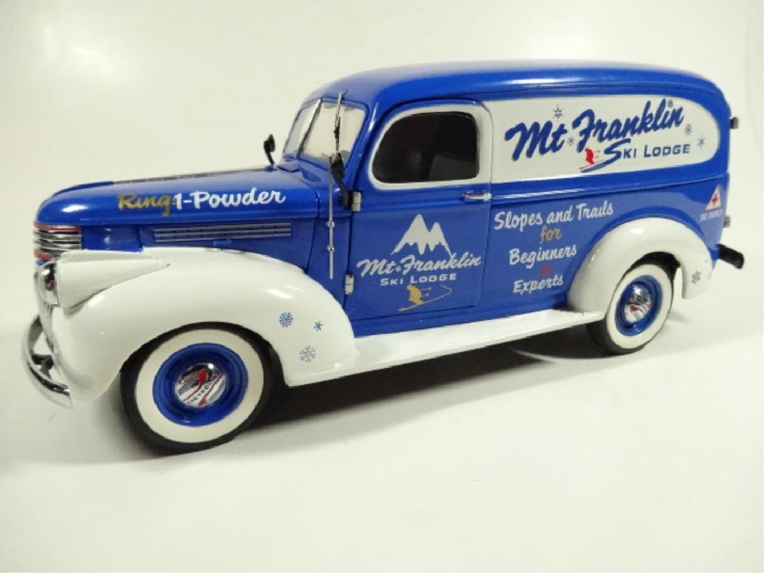 1946 CHEVROLET SKI LODGE TRUCK, MINT CONDITION, BY