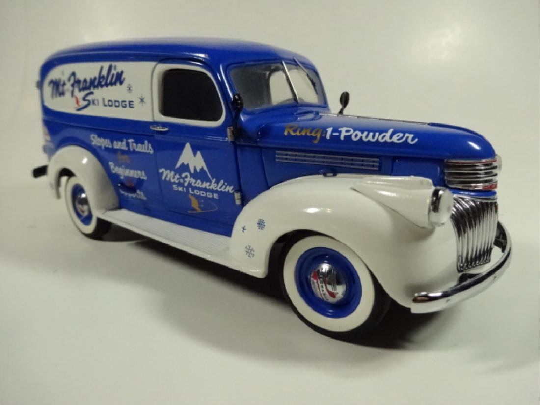 1946 CHEVROLET SKI LODGE TRUCK, MINT CONDITION, BY - 3