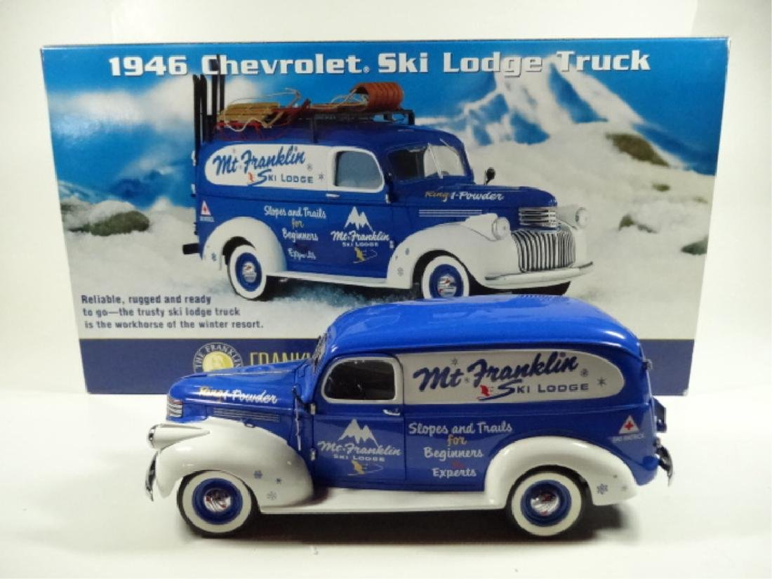 1946 CHEVROLET SKI LODGE TRUCK, MINT CONDITION, BY - 8