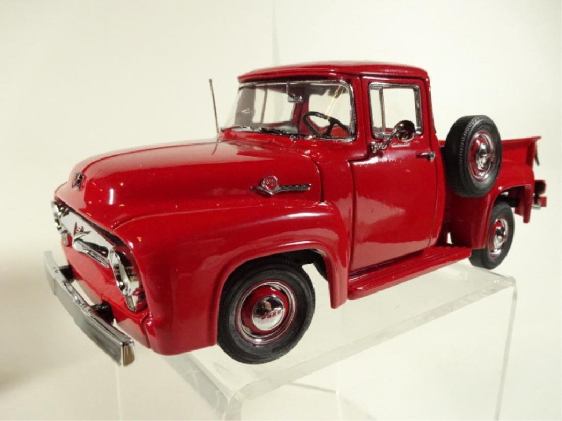 1956 FORD F100 PICKUP TRUCK, MINT CONDITION, BY DANBURY