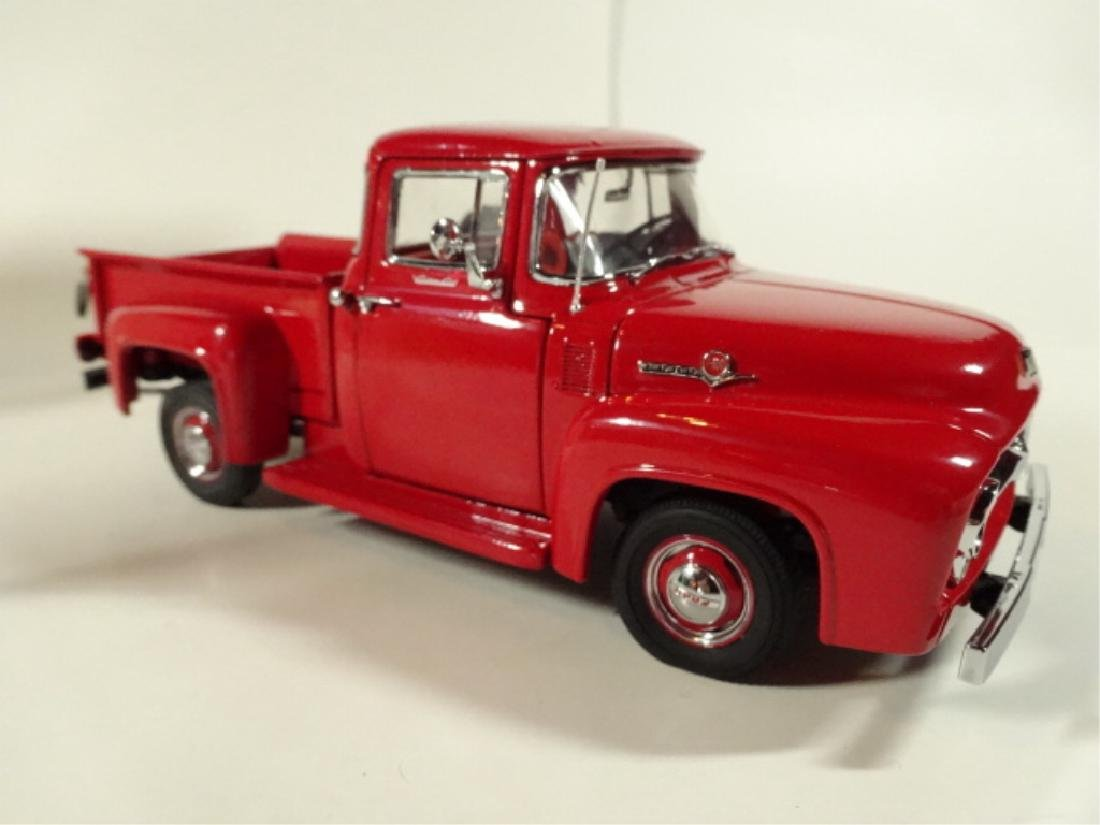 1956 FORD F100 PICKUP TRUCK, MINT CONDITION, BY DANBURY - 2