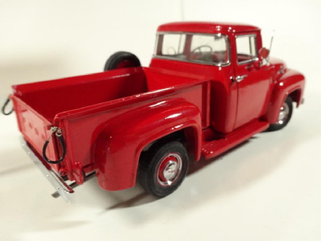 1956 FORD F100 PICKUP TRUCK, MINT CONDITION, BY DANBURY - 3