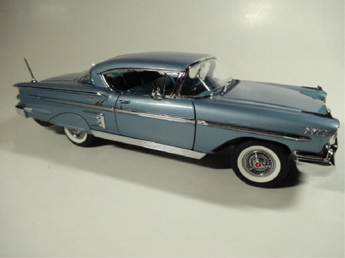 1958 CHEVROLET IMPALA SPORT COUPE, VERY GOOD CONDITION, - 2