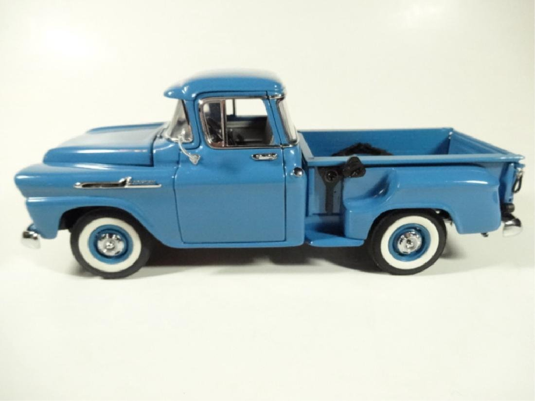 1958 CHEVROLET APACHE PICKUP TRUCK, MINT CONDITION, BY