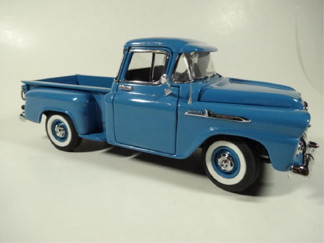 1958 CHEVROLET APACHE PICKUP TRUCK, MINT CONDITION, BY - 2