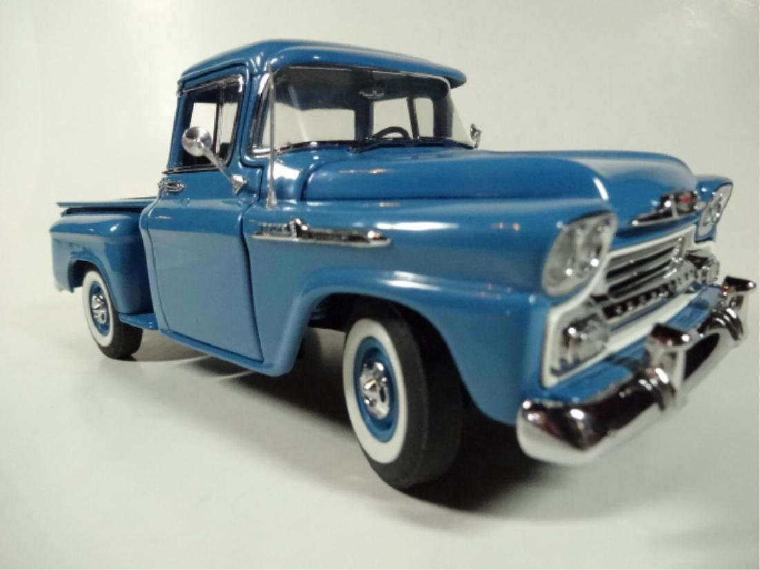1958 CHEVROLET APACHE PICKUP TRUCK, MINT CONDITION, BY - 3