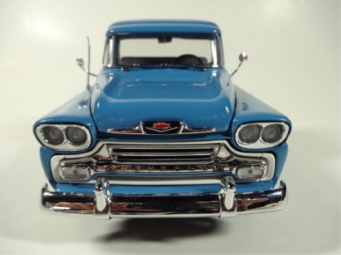 1958 CHEVROLET APACHE PICKUP TRUCK, MINT CONDITION, BY - 4