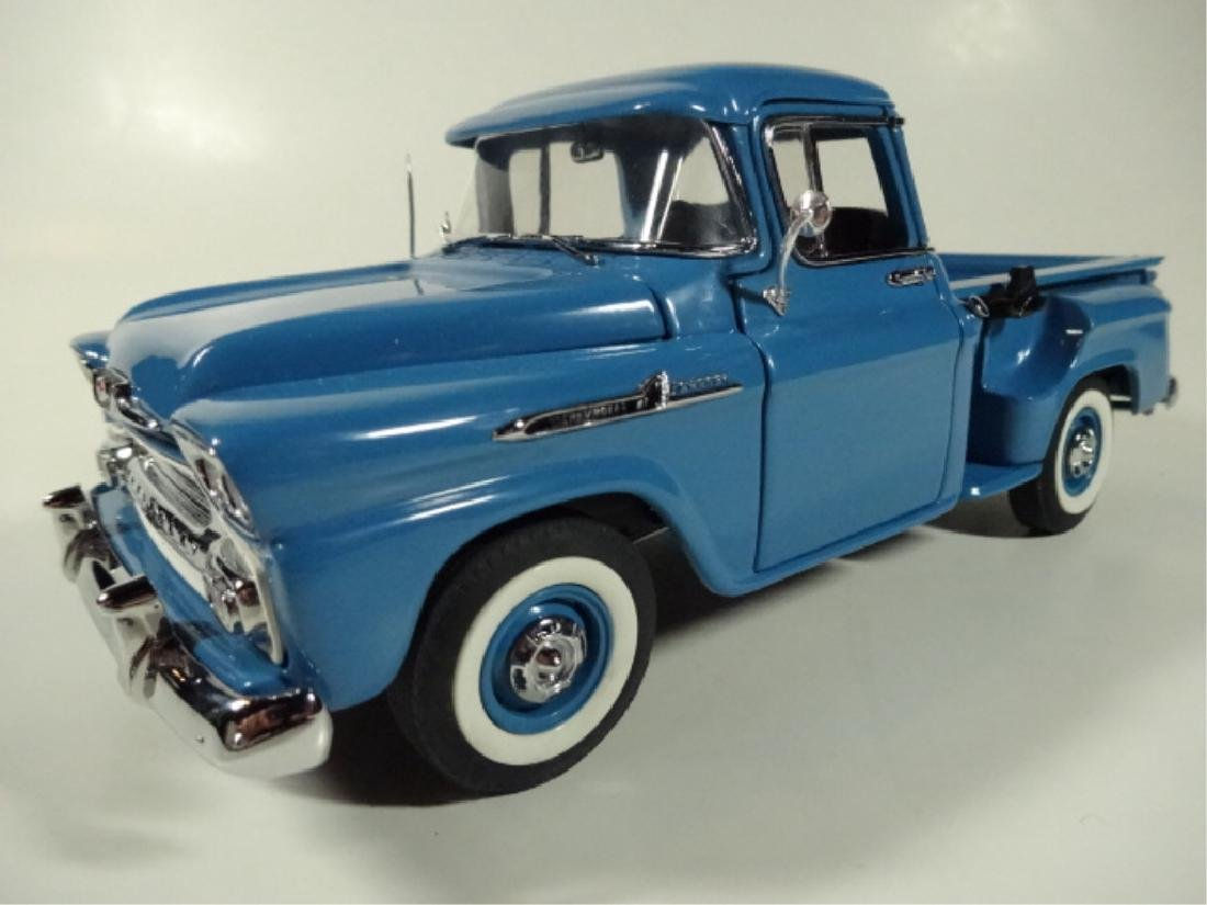 1958 CHEVROLET APACHE PICKUP TRUCK, MINT CONDITION, BY - 5