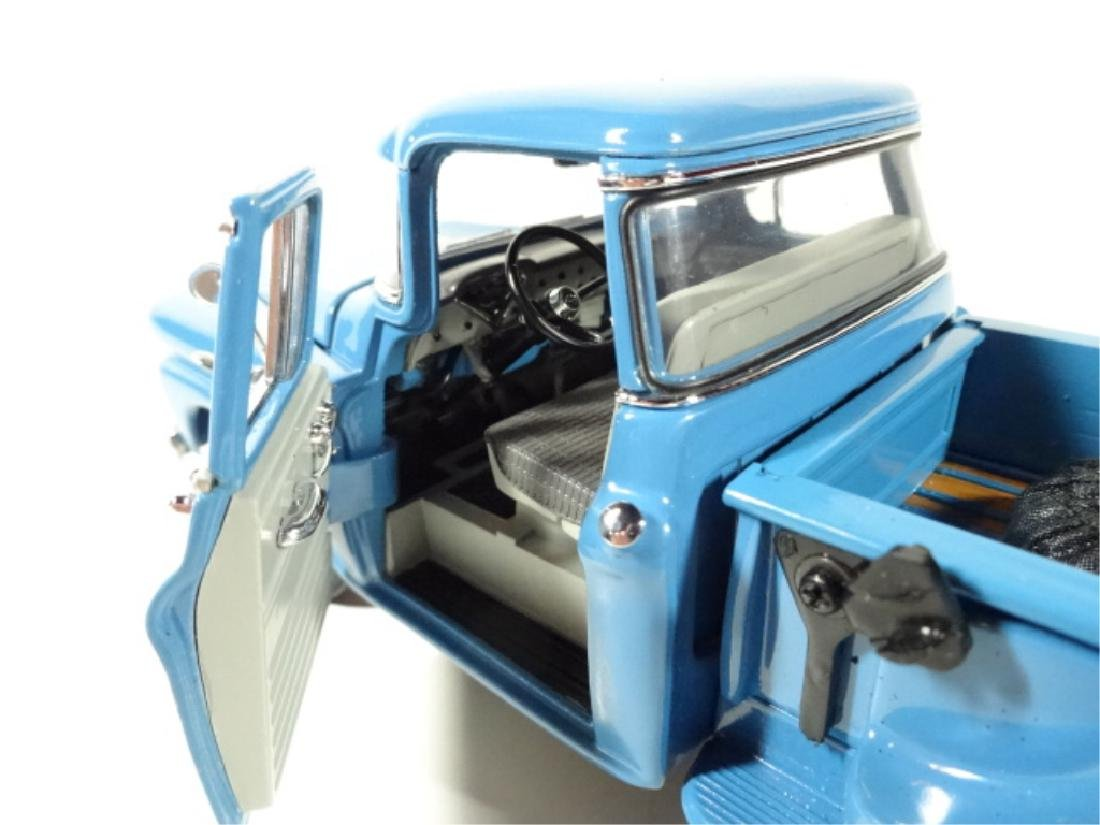1958 CHEVROLET APACHE PICKUP TRUCK, MINT CONDITION, BY - 7