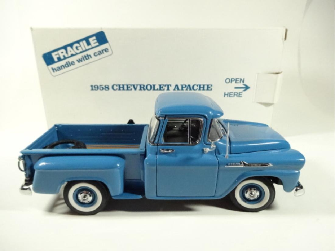 1958 CHEVROLET APACHE PICKUP TRUCK, MINT CONDITION, BY - 8