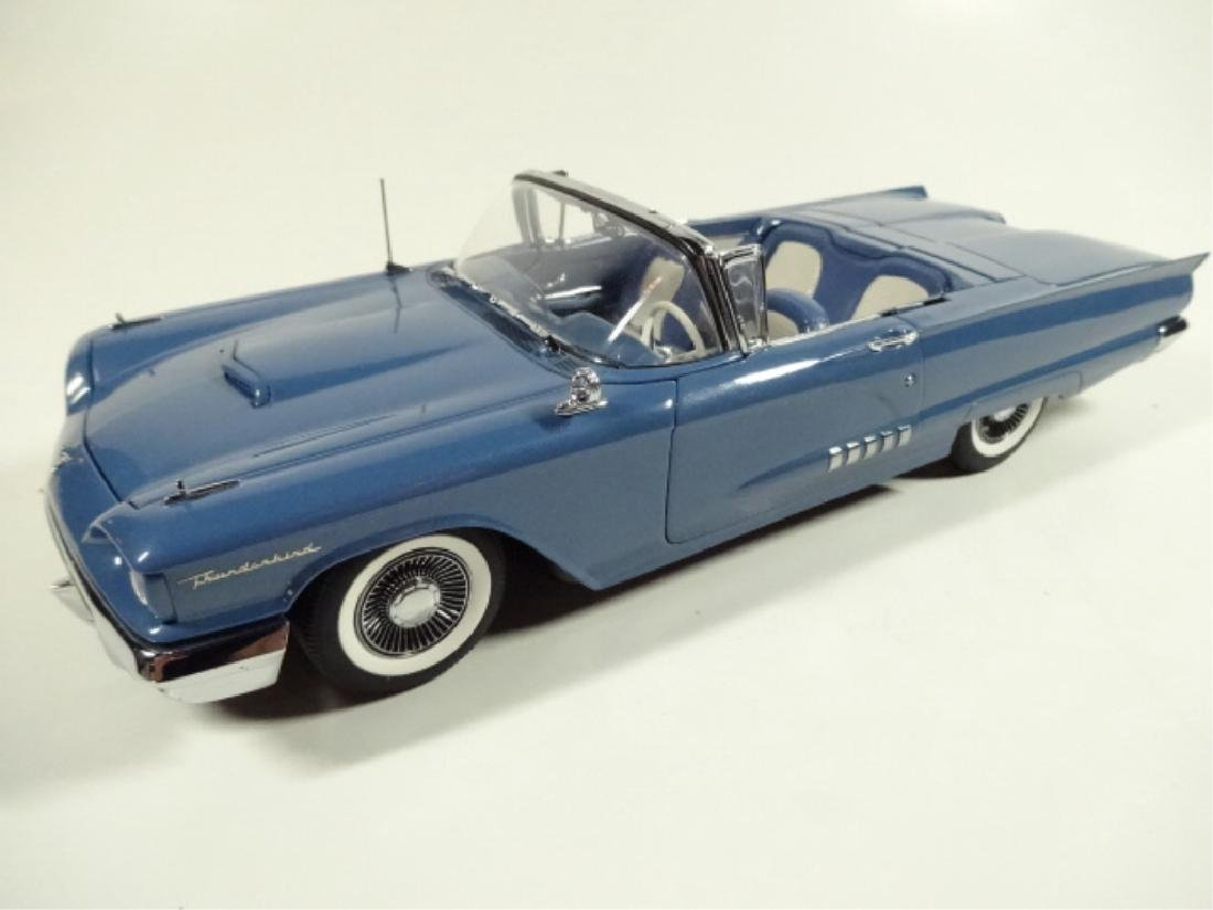 1958 FORD THUNDERBIRD CONVERTIBLE, MINT CONDITION, BY