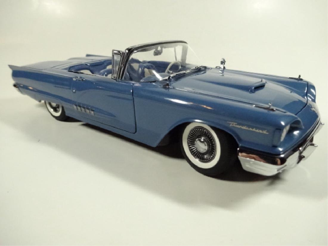 1958 FORD THUNDERBIRD CONVERTIBLE, MINT CONDITION, BY - 4