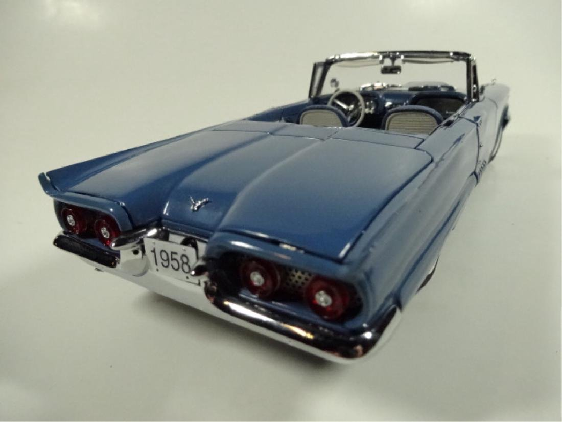 1958 FORD THUNDERBIRD CONVERTIBLE, MINT CONDITION, BY - 5