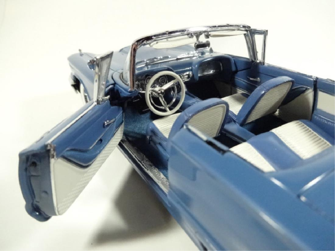 1958 FORD THUNDERBIRD CONVERTIBLE, MINT CONDITION, BY - 6