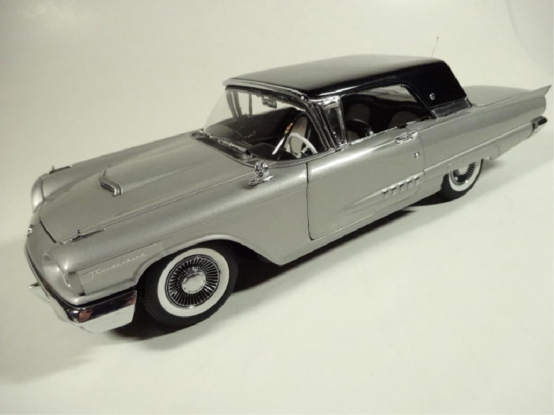1958 FORD THUNDERBIRD COUPE, MINT CONDITION, BY DANBURY - 2