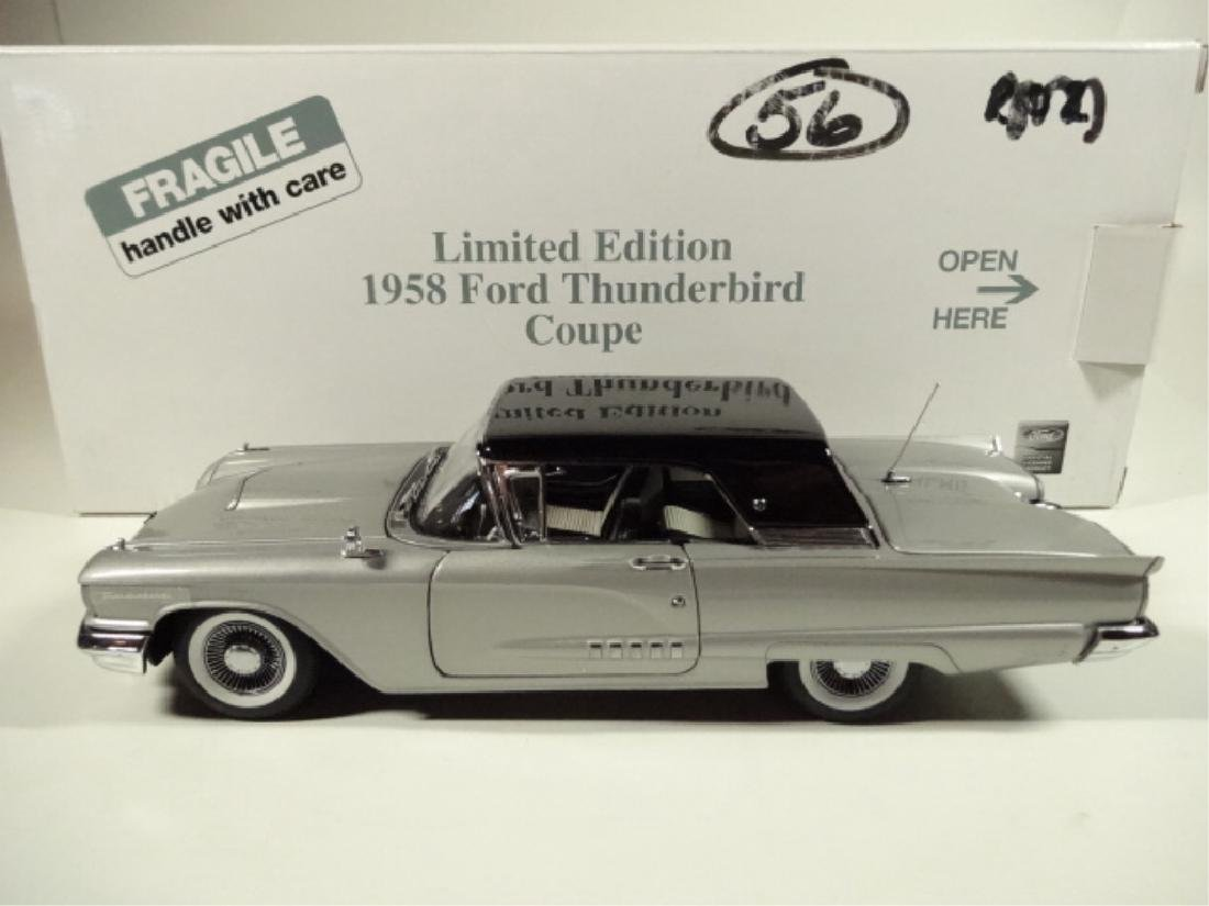 1958 FORD THUNDERBIRD COUPE, MINT CONDITION, BY DANBURY - 6