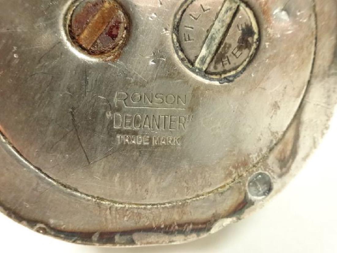 """VINTAGE RONSON DECANTER LIGHTER, 4.5"""" X 2.5"""", SKU604.05 - 7"""