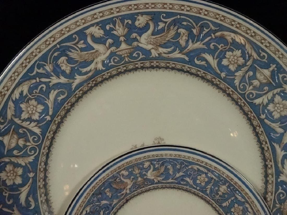 42 PC MYOTT CHINA, MEDICI, MADE IN ENGLAND, INCLUDES 6 - 3