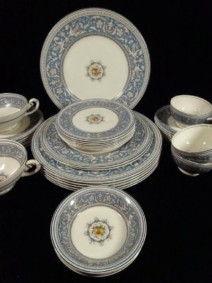 42 PC MYOTT CHINA, MEDICI, MADE IN ENGLAND, INCLUDES 6 - 9