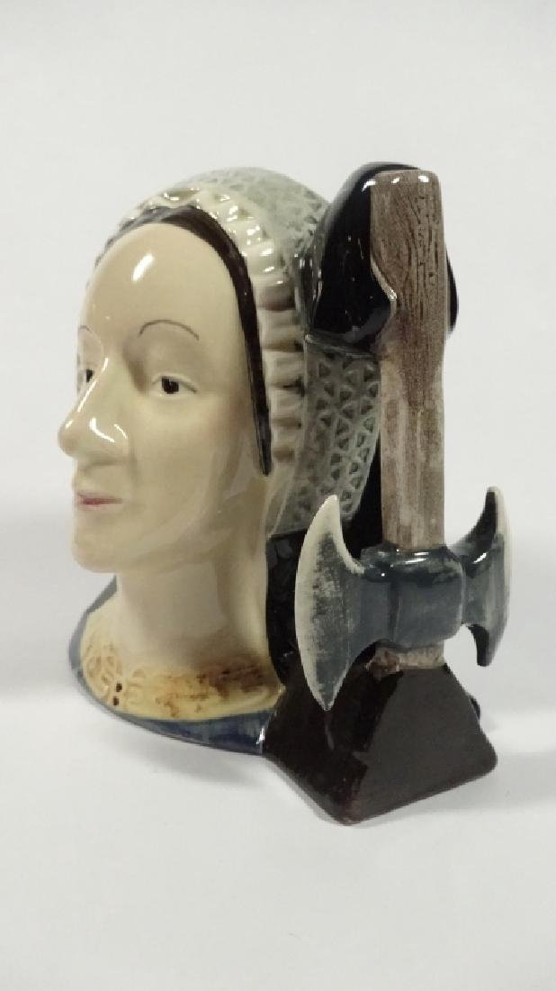 SMALL ROYAL DOULTON TOBY JUG, ANNE BOLEYN, LIMITED - 2