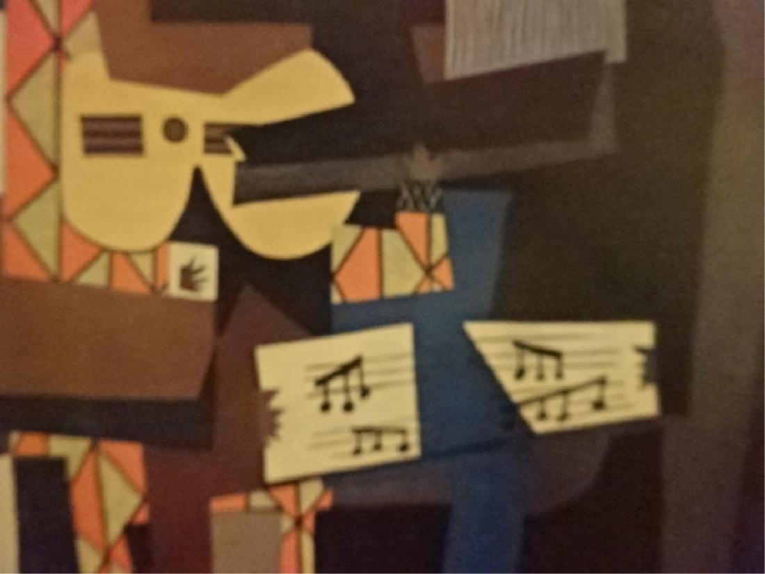 AFTER PABLO PICASSO PRINT, THREE MUSICIANS, ORIGINAL - 5