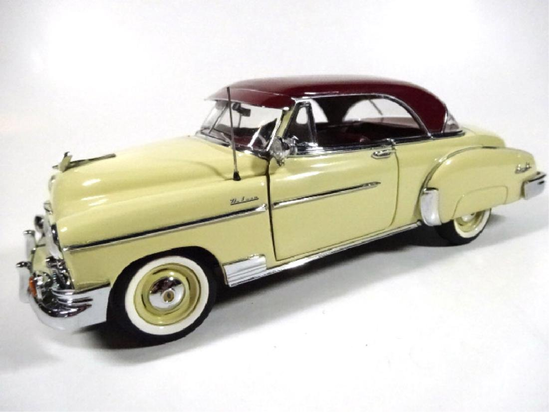 1950 CHEVROLET BEL AIR, MINT CONDITION, DIECAST CAR BY