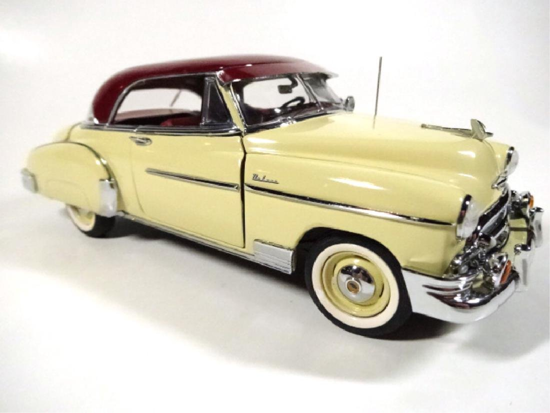1950 CHEVROLET BEL AIR, MINT CONDITION, DIECAST CAR BY - 3
