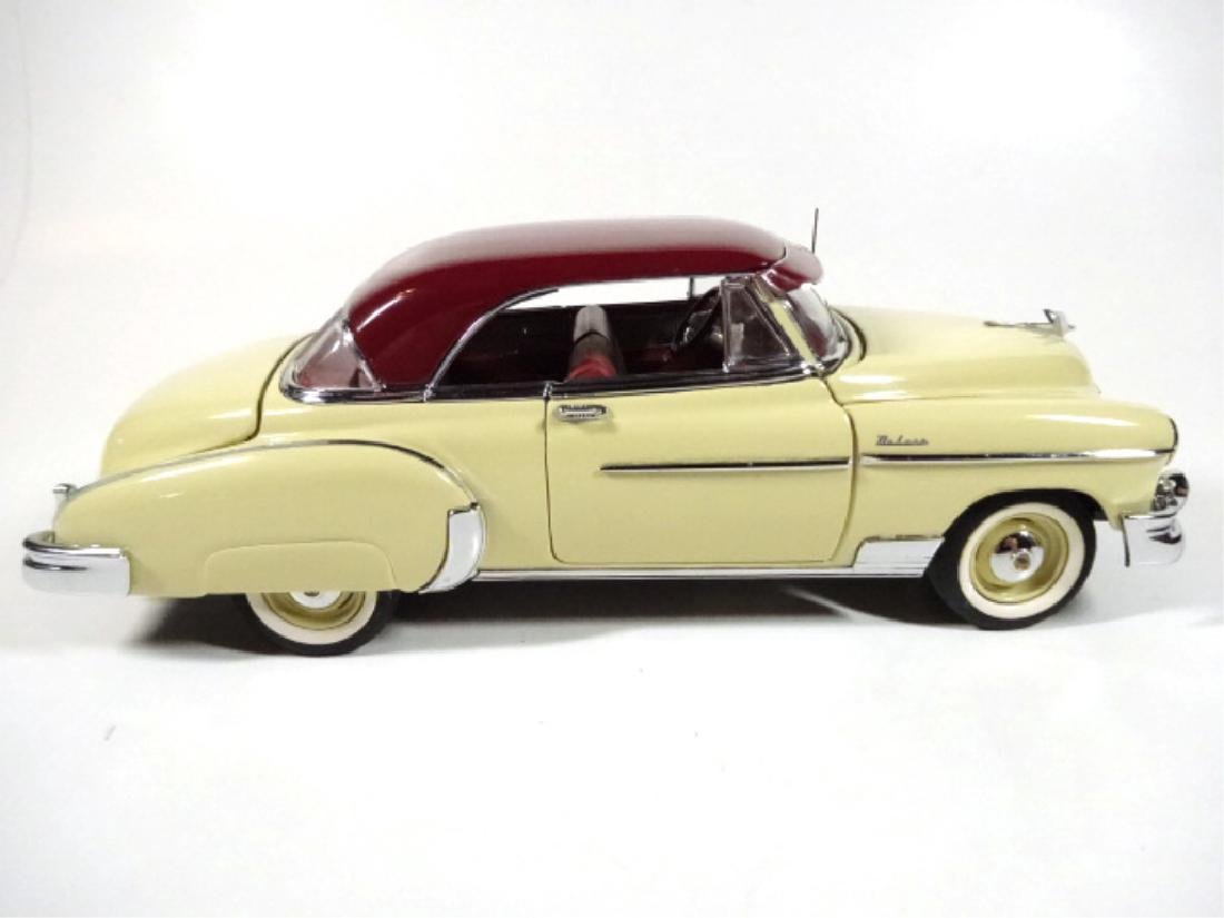 1950 CHEVROLET BEL AIR, MINT CONDITION, DIECAST CAR BY - 4