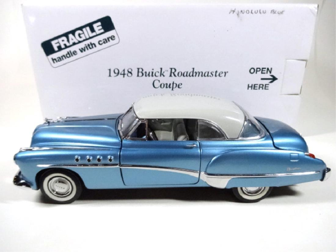 1948 BUICK ROADMASTER COUPE, MINT CONDITION, DIECAST - 7