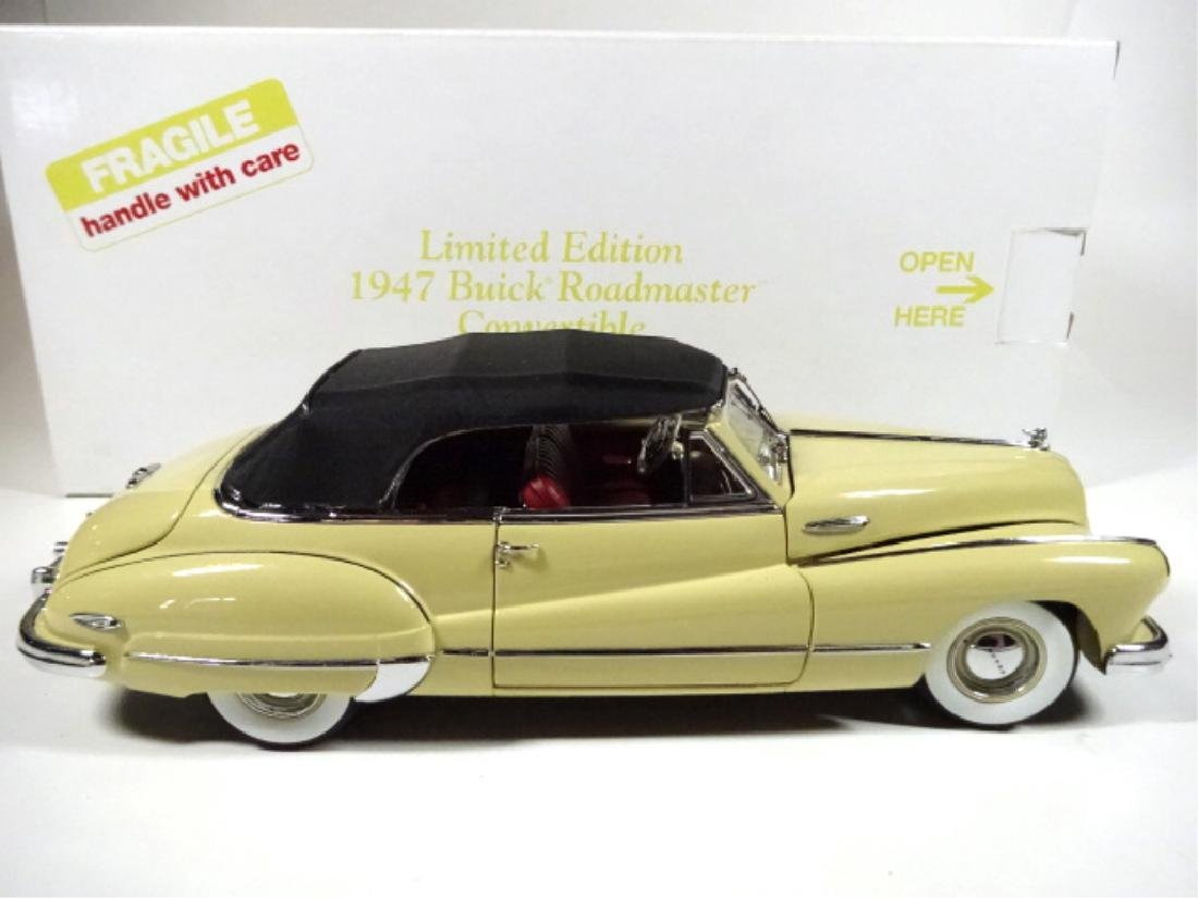 1947 BUICK ROADMASTER CONVERTIBLE, MINT CONDITION, - 8