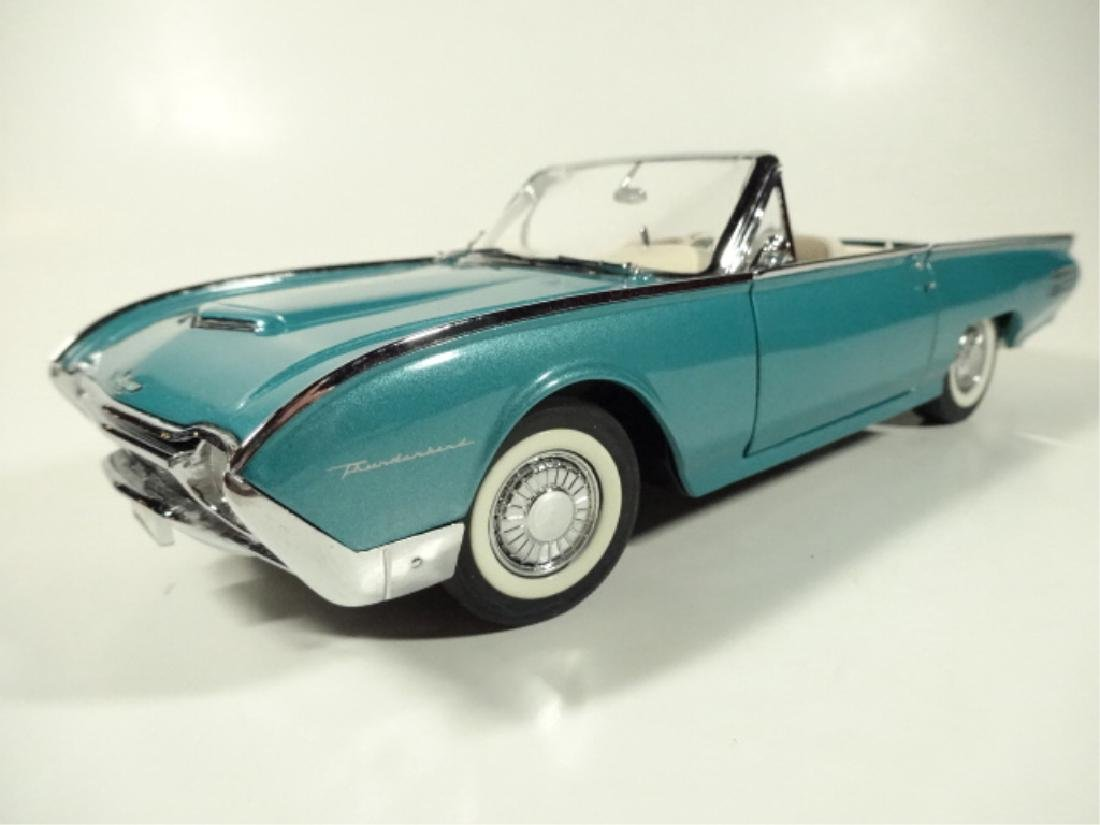 1961 FORD THUNDERBIRD CONVERTIBLE, MINT CONDITION,