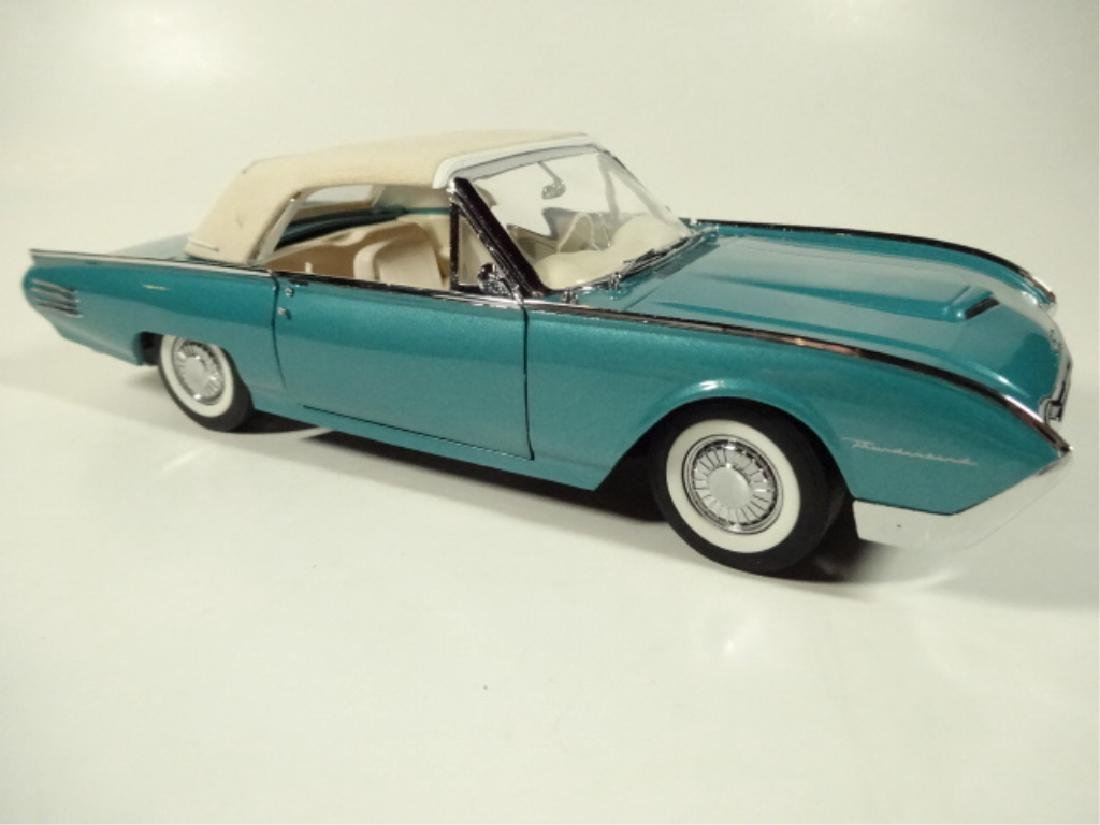 1961 FORD THUNDERBIRD CONVERTIBLE, MINT CONDITION, - 2